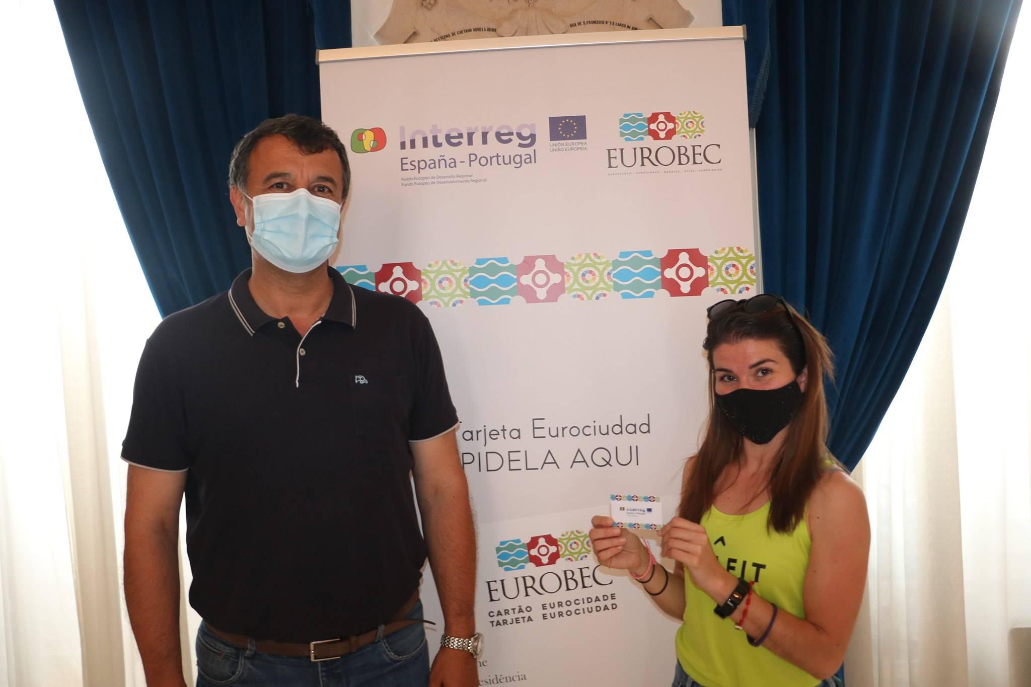 Galeria de Fotos - Primeiro Cartão EuroBEC entregue em Campo Maior